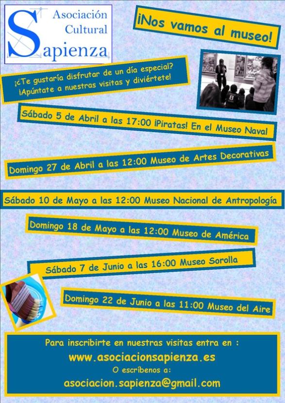 cartel visitas programadas 2014
