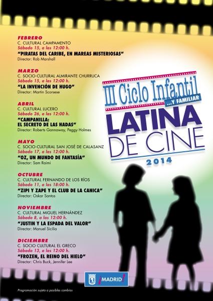 III CICLO INFANTIL Y FAMILIAR LATINA DE CINE